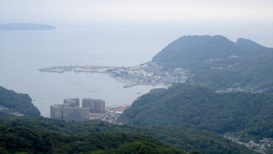 View from Mount Inasa