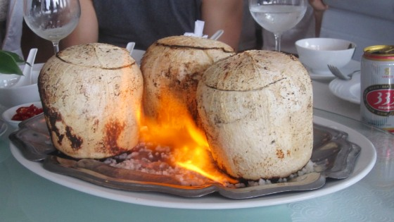 Coconut beef