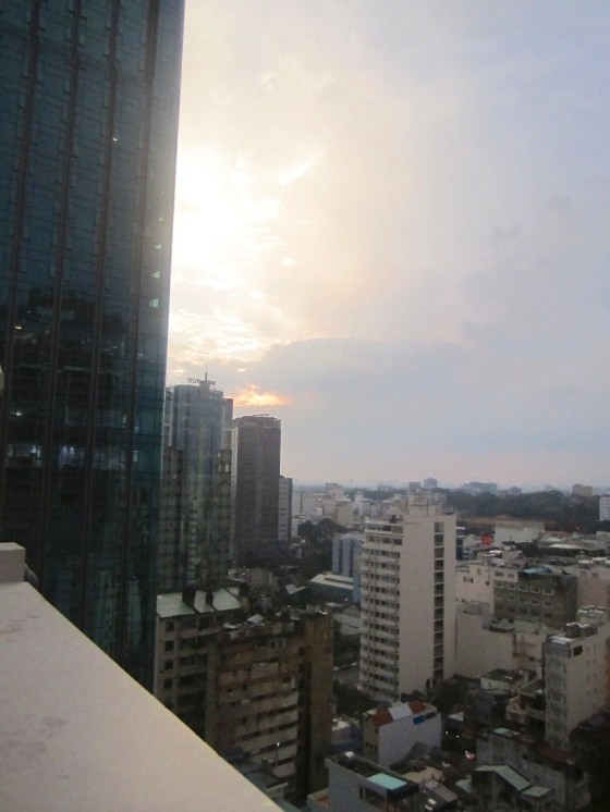 View from the Grand Hotel, Saigon