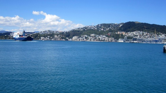 Beautiful view in Wellington