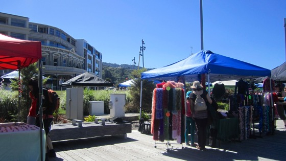 Market in Picton
