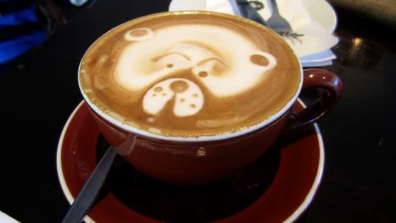 Latte bear
