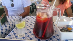 Sangria.  One of the best things about Spain!