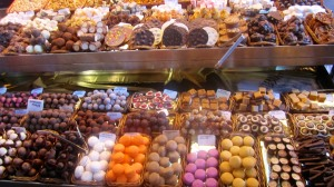 Sweets in the market