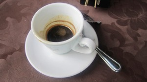 Espresso in Italy. Yes.