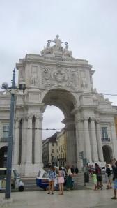 Arch in Lisbon