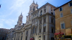 Surrounding building at Piazza Navona