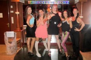 90s stars birthday party.  Spice Girls!