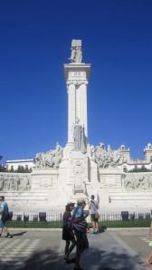 Statue near the port