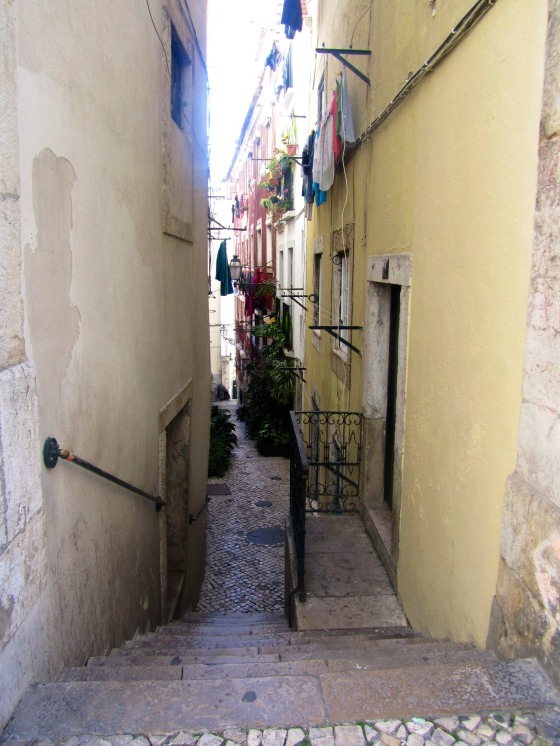 Alley in Alfama
