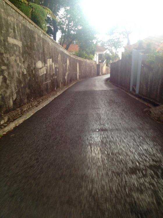 Slippery streets