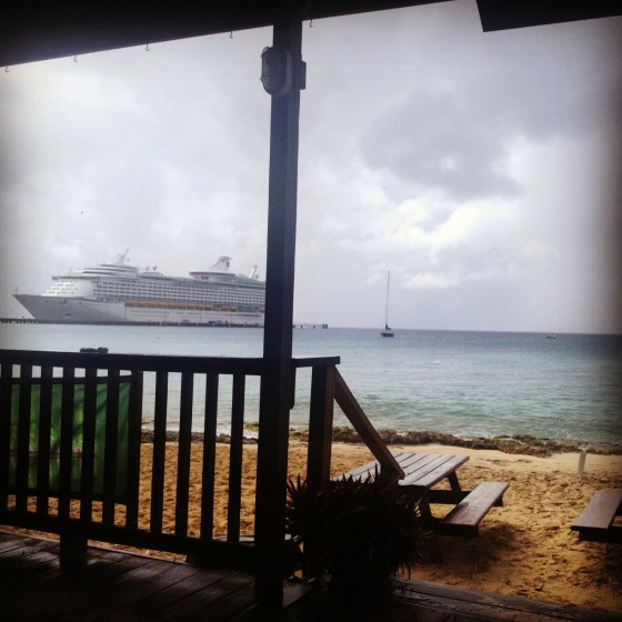 Rainy day in St. Croix