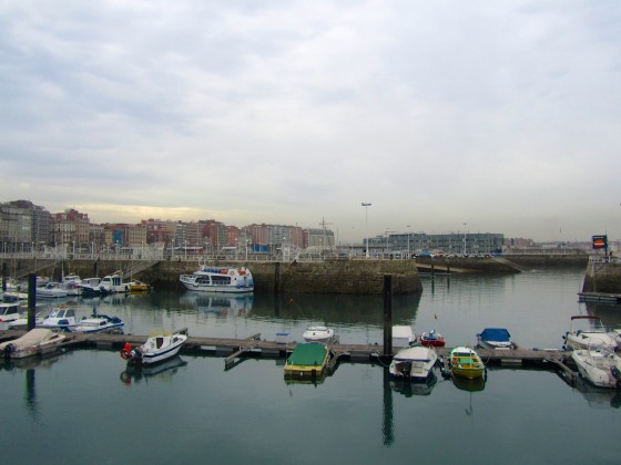 Docks in Gijon