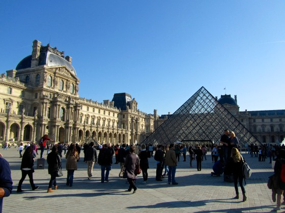 More at the Louvre