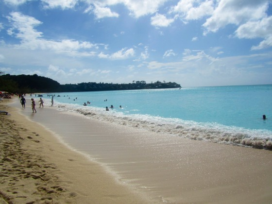 Beautiful water in Antigua