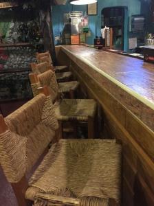 Deserted bar