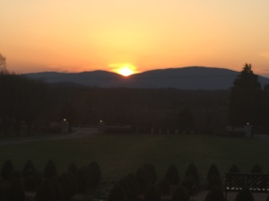 Sunset in Virginia