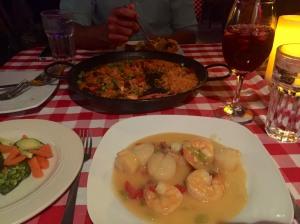 Dinner at Triana