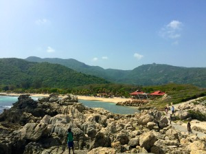 Labadee from a lookout point