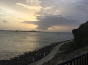 Sunset in San Juan