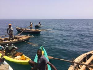 Local fisherman in Labadee