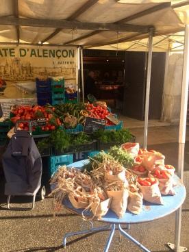 Market in Versailles