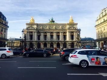 Outside Palais Garnier