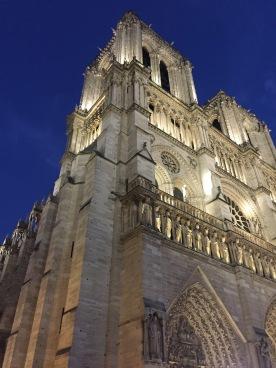 Notre Dame, corner view