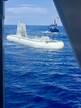 Submarine surfacing